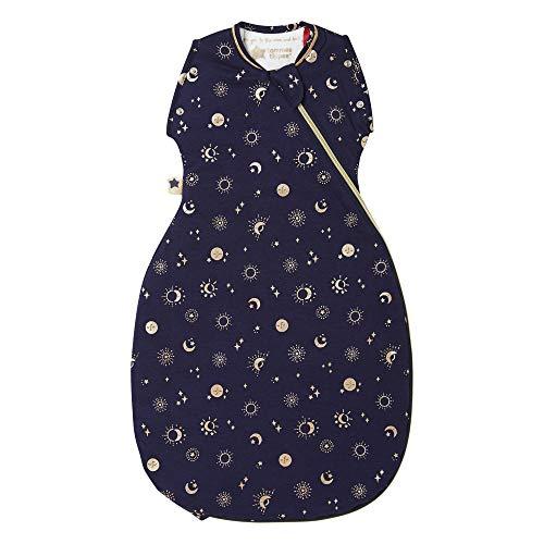 Tommee Tippee The Original Grobag Saco de Transición Snuggle para Bebés, Tejido Suave en Bambú, 3-9 Meses, 1.0 Tog, Moon Child