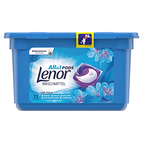 Lenor All-in-1 PODS wasmiddel Aprilfris - 13 wasbeurten, 348 g