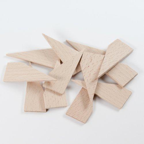 Keile, Holzkeile für Keilrahmen, Hartholz, 3mm Stärke