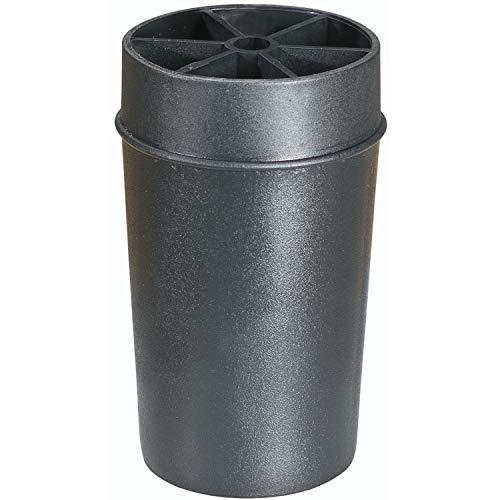 Fuß zu Boxspringbett KING, Kunststoff schwarz H 100 mm