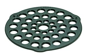 8-inch preseasoned cast-iron meat rack/trivet designed for all Lodge Dutch ovens 4 quarts or larger Raises meats, pies, and other foods off pan bottom to prevent scorching Unparalleled in heat retention and even heating Easy care: hand wash, dry, rub...