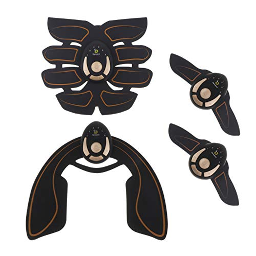 DYNWAVE Kit mit 4 Stück Abdominal Electrostimulation Device EMS Elektrostimulator für Muskelstimulator für Oberschenkel Arm Hüfte