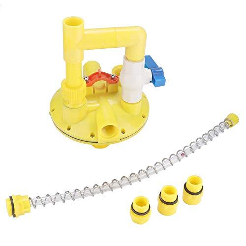 Alinory Druckminderer, automatisches Trinkwasser-Regler-Druckminderer-Reduzierventil für Zuchthuhn