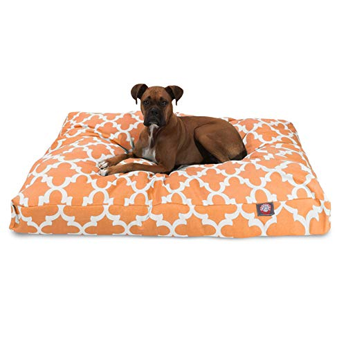 Majestic Pet Peach Trellis Extra Large Rectangle Indoor Outdoor Pet Dog Bed With Removable Washable Cover Products
