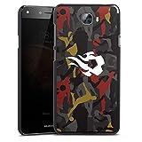 Coque Compatible avec Huawei Y6 II Compact Étui Housse Diables Rouges Footballeur RBFA