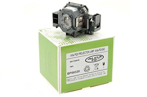 Alda PQ-Premium, Lampada proiettore per EPSON EB-410W Proiettori, lampada con modulo