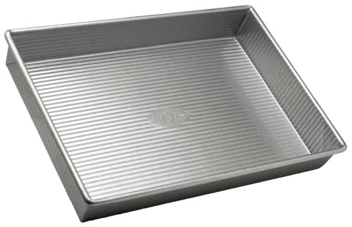 USA Pan Bakeware Rectangular Cake Pan, 9 x 13 inch,