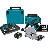 Makita XPS01PTJ 5.0Ah 18V X2 LXT Lithium-Ion (36V) Brushless Cordless 6-1/2' Plunge Circular Saw Kit