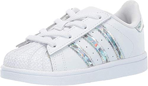 adidas Originals Jungen Superstar Sneaker, White Core Black White, 17 EU
