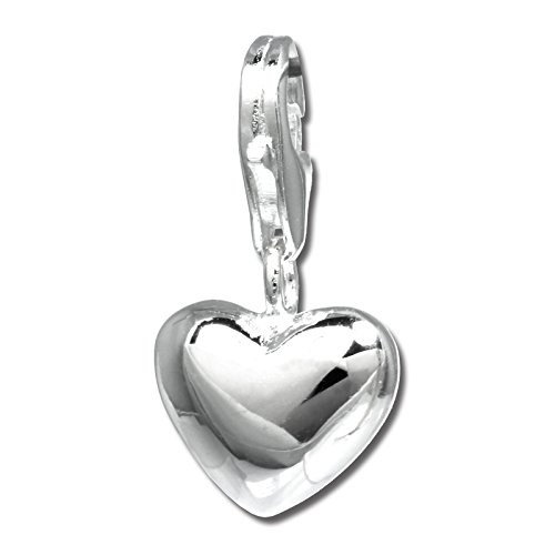 SilberDream Charm Schmuck 925 Echt Silber Armband Anhänger Herz FC3144