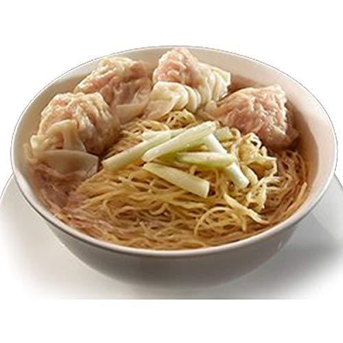 「冷凍商品」香港文記雲呑麺 4人前セット (ホンコンマンゲワンタンメン Man Kee Wonton Noodles )