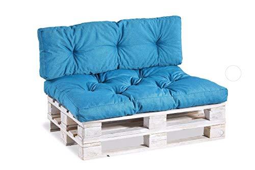 Cuscino per pallet, cuscino per sedia, schienale trapuntato, in PP