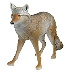 PREDATOR HUNTING DECOY: Ultra-realistic body detail mimics the true-to-life definition of a coyote with the coloration of a mature male. PEST CONTROL DECOY: Excellent deterrent for unwanted pests, including rodents, geese, and smaller bird species, w...