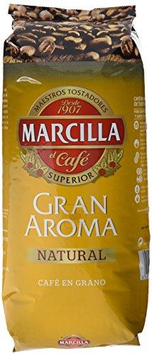 Marcilla Café Grano Gran Aroma Natural - 1 Kg