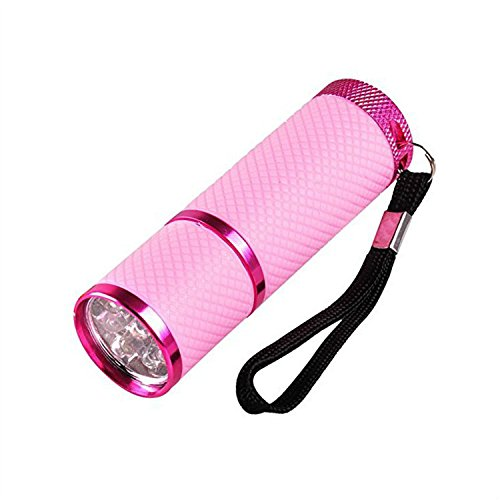 Colorful Mini UV-Lampe 9 LED für fast dry Cure nailr Pets/Baby Urin/Pee Rauchmelder Trockner Hunde...