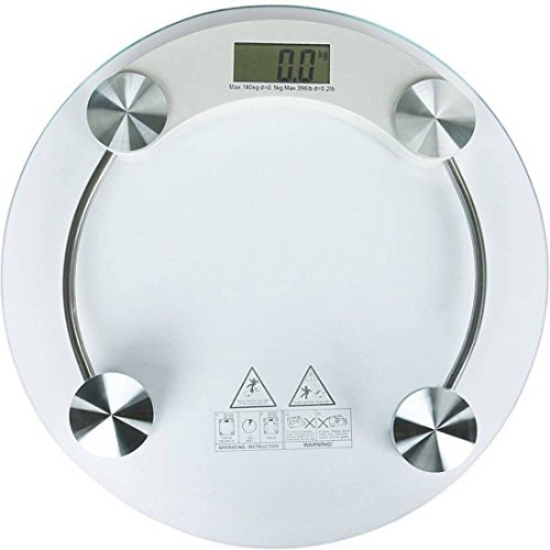 Granny Smith Digital LED Display Toughened Glass Personal Body Weight Machine (6 mm)