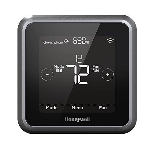 Honeywell Home RCHT8610WF2006/W, T5 Smart Thermostat, Black (Renewed)