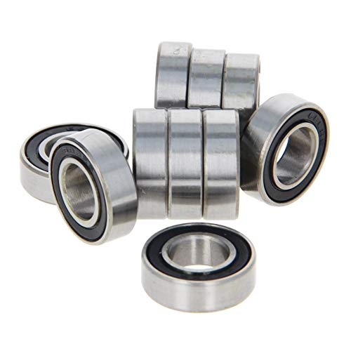 Othmro 688-2RS Ball Bearing 8mm x 16mm x 5mm Double Sealed Deep Groove Bearings Gcr15 (Pack of 10)
