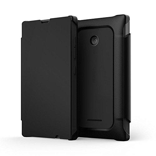 Nokia Funziona con Mozo Custodia a Libro Lumia/532 Mozo Funziona Nero