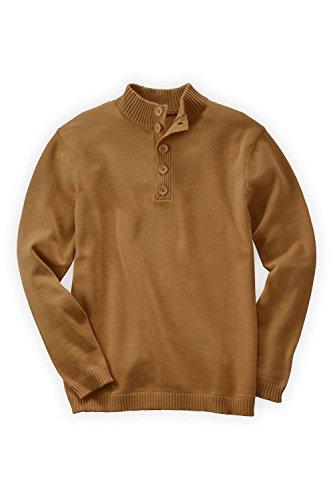 Caramel Brown Sweaters Men's