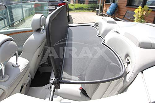 Airax Windschott für CLK A 209 A209 Cabrio Windabweiser Windscherm Windstop Wind deflector déflecteur de vent