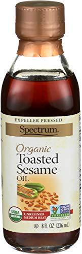 Spectrum Naturals, Oil Sesame Toasted Organic, 8 Fl Oz
