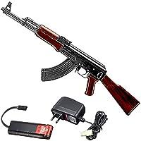 【90日安心保証付】【3点セット】東京マルイ 次世代電動ガン AK47 TYPE-3+(バッテリー)+(充電器) 18歳以上用