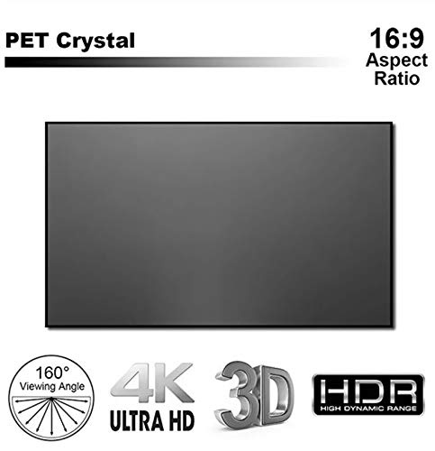 UST CLR ALR Hoch Kontrast Rahmen Leinwand Ultrakurzdistanz Beamer Projektor Laser TV 120