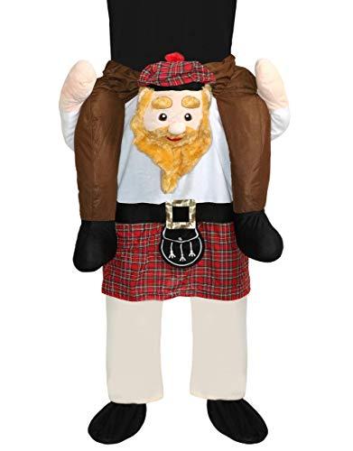 I LOVE FANCY DRESS LTD Disfraz divertido de Escocia Escocia Escocia Escocia