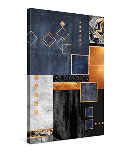 PICANOVA – Construction 40x60cm – Premium Leinwanddruck – Kunstdruck Auf 2cm Holz-Keilrahmen Für Schlaf- Und Wohnzimmer Von Elisabeth Fredriksson