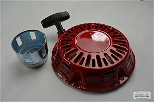 Seilzugstarter Handstarter passend Honda GX270 Flache Stahlklinke + Cup