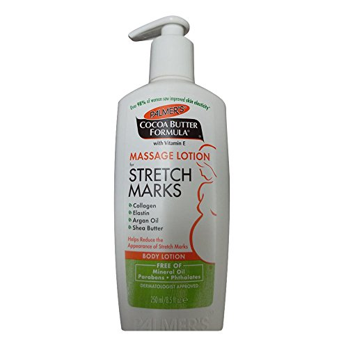 2 Pack Palmer Cocoa Butter Formula Massage Lotion for Stretch Marks, 8.5 oz Pump, NK.