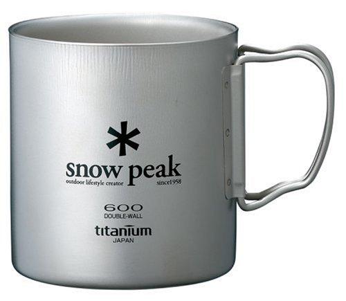 Snow Peak Titanium Double 600 Wall Cup