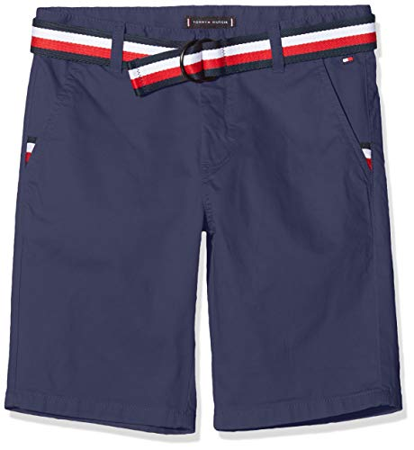 Tommy Hilfiger Essential Belted Chino Short voor jongens