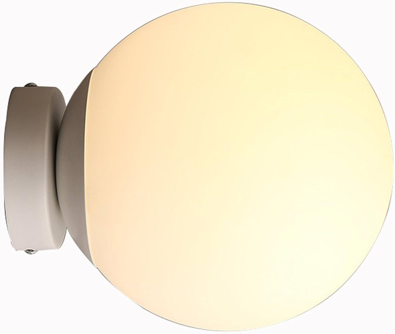 XINYALAMP Nordische Schlafzimmer Nachtwand Wandleuchte einfache Mode Flur Badezimmer Spiegel Scheinwerfer (gre   225  200mm)