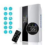 WYLDDP Home Deumidificatore Intelligente Multifunzione 2.2L Deumidificatore, asciugatrice con umidit costante e Funzione di scongelamento, per Camera da Letto, Cucina, Garage, Guardaroba, Cantina