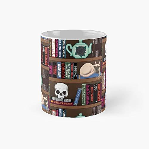 Murderino Book Club Classic Mug Best Gift Funny Coffee Mugs 11 Oz