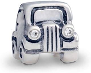 حلية سيارة من الفضة الإسترلينية من باندورا رقم 790405cz