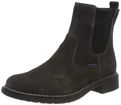 Richter Kinderschuhe Mädchen Mary Chelsea Boots, Grau (Steel 6500), 32 EU