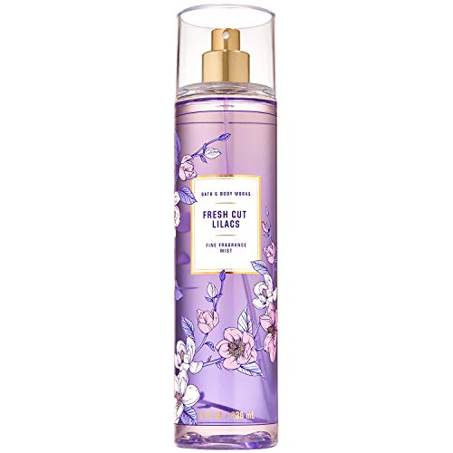 Bath and Body Works Fresh Cut Lilacs Fine Fragrance Mist Ounce Spray Summer 2020 Collection