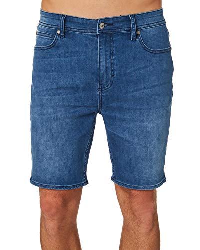 Lee Men's Z-One Roadie Shorts, Stellar Blue, 28
