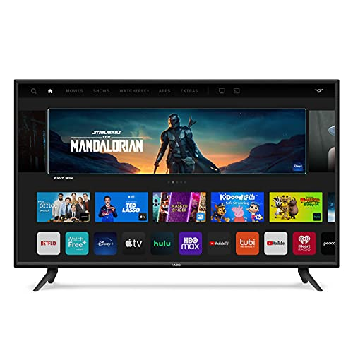 VIZIO 55-Inch V-Series 4K UHD LED HDR Smart TV with Apple AirPlay and Chromecast Built-in, Dolby...