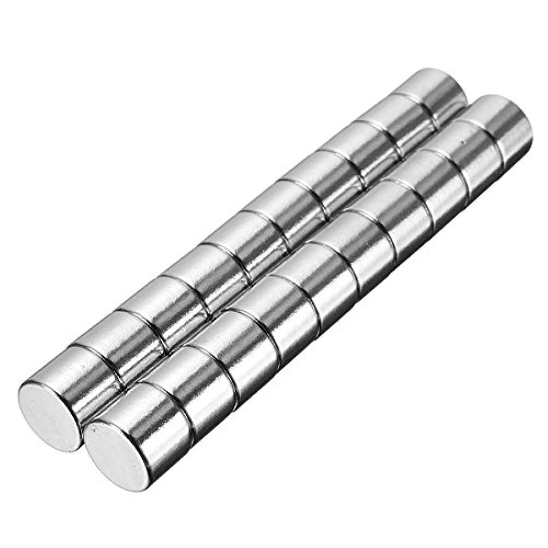 欺く没頭するSndy 20pcs N50 強力なラウンドシリンダー磁石 10 mm x 8 mm 希土類ネオジム磁石