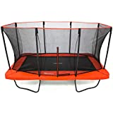 SkyBound Horizon 11X18ft Rectangle Trampoline with Safety Enclosure and Ladder