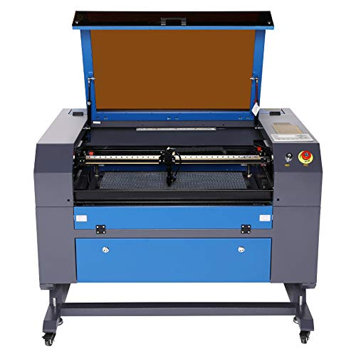 Orion Motor Tech 60W CO2 Laser Engraver Cutter 20 x 28 Inch Work Area with USB Port, Red Dot Pointer, Exhaust Fan, Water Pump, PC Software, Laser Engraving Cutting Machine for Wood Plastic Glass Etc