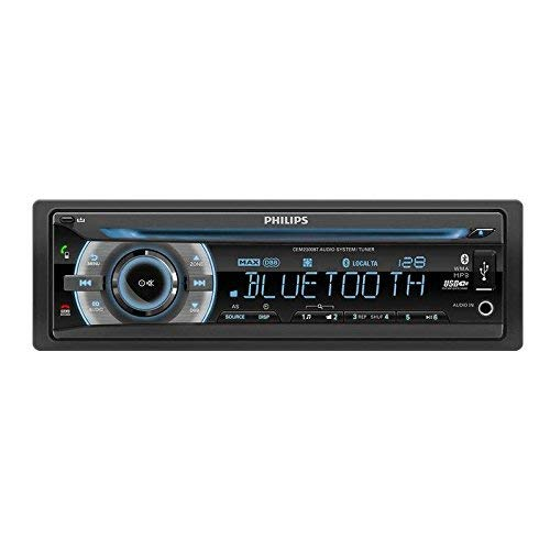 Philips PHICEM2300BT - Radio para Coche, Color Negro (Reacondicionado Certificado)