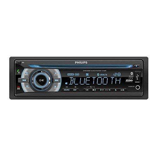 Philips PHICEM2300BT - Radio para Coche, Color Negro (Reacondicionado Certificado)