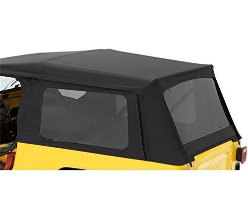 Price comparison product image Bestop 5871035 Black Diamond Tinted Window Kits Supertop NX Soft Tops - 2004-2006 Wrangler Unlimited