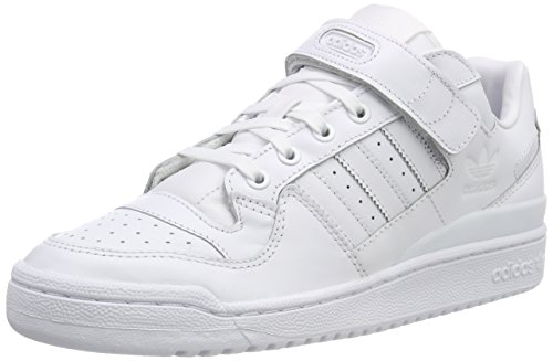 Adidas Herren Forum Lo Refined Sneakers, Weiß (Ftwbla/Ftwbla/Negbas 000), 46 EU