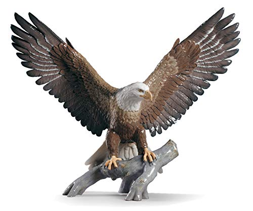 LLADRÓ Skulptur Adler. Adler. Porzellan.